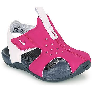 Shoes Girl Sliders Nike SUNRAY PROTECT 2 TD Purple