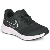 Shoes Children Multisport shoes Nike STAR RUNNER 2 PS Black / White
