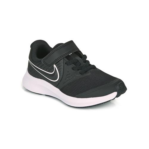 Shoes Children Multisport shoes Nike STAR RUNNER 2 PS Black / White