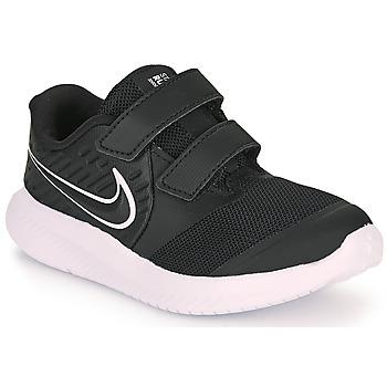Shoes Children Multisport shoes Nike STAR RUNNER 2 TD Black / White