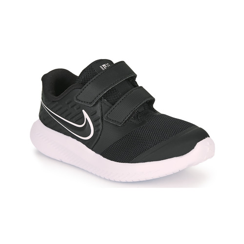 Shoes Children Multisport shoes Nike STAR RUNNER 2 TD Black / White