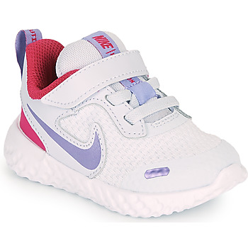Shoes Girl Multisport shoes Nike REVOLUTION 5 TD Blue / Purple