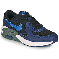Shoes Boy Low top trainers Nike AIR MAX EXCEE GS Blue
