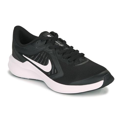 Shoes Children Multisport shoes Nike DOWNSHIFTER 10 GS Black / White