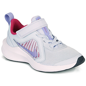 Shoes Girl Multisport shoes Nike DOWNSHIFTER 10 PS Blue / Purple