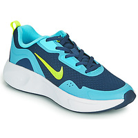 Shoes Boy Multisport shoes Nike WEARALLDAY GS Blue / Green