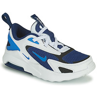 Shoes Boy Low top trainers Nike AIR MAX BOLT PS White / Blue