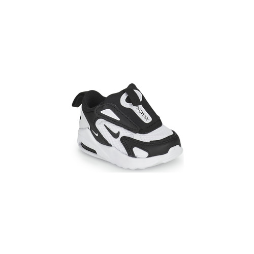 Shoes Children Low top trainers Nike AIR MAX BOLT TD White / Black
