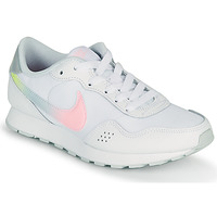 Shoes Girl Low top trainers Nike MD VALIANT GS White / Pink