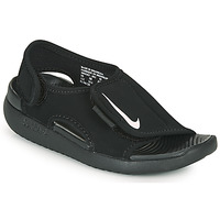 Shoes Children Sliders Nike SUNRAY ADJUST 5 V2 PS Black