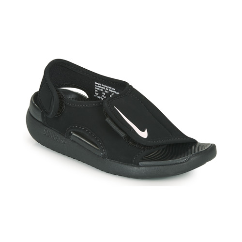 Shoes Children Sliders Nike SUNRAY ADJUST 5 V2 PS Black
