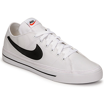 Shoes Men Low top trainers Nike NIKE COURT LEGACY CANVAS White / Black