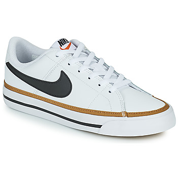 Shoes Children Low top trainers Nike NIKE COURT LEGACY White