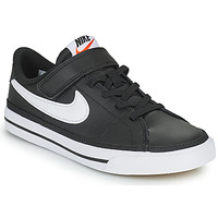Shoes Children Low top trainers Nike NIKE COURT LEGACY Black / White