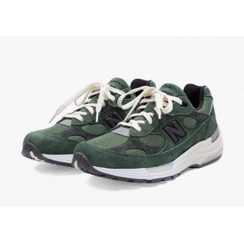 Shoes Low top trainers New Balance JJJJound x New Balence 992 Green Green - Grey