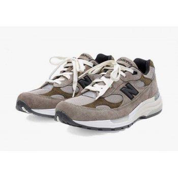 Shoes Low top trainers New Balance JJJJound x New Balence 992 Beige Beige - Grey