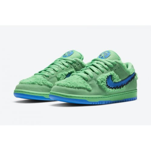 Shoes Low top trainers Nike SB Dunk Low x Grateful Dead Green Green Spark/Soar