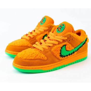 Shoes Low top trainers Nike SB Dunk Low x Grateful Dead Orange Bright Ceramic/Green Spark