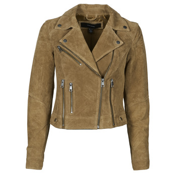 Clothing Women Leather jackets / Imitation leather Vero Moda VMUTOPIA Brown