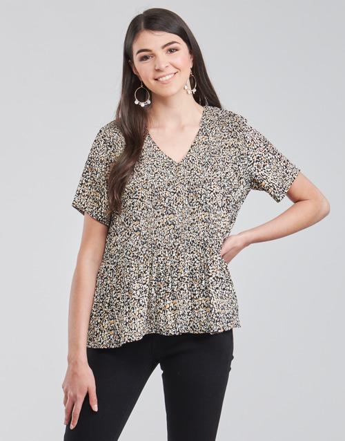 Clothing Women Tops / Blouses Vero Moda VMELIN Beige