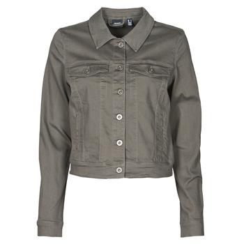 Clothing Women Denim jackets Vero Moda VMHOTSOYA Kaki