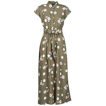 Clothing Women Long Dresses Vero Moda VMTALLIE Kaki