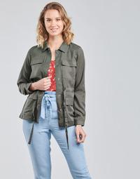 Clothing Women Jackets / Blazers Vero Moda VMVIVIANA Kaki