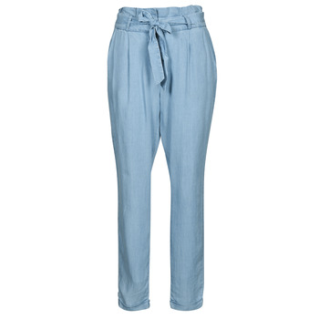 Clothing Women Chinos Vero Moda VMVIVIANAEVA Blue / Clear