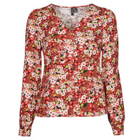 Clothing Women Shirts Vero Moda VMSIMPLY EASY Red