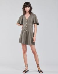 Clothing Women Jumpsuits / Dungarees Vero Moda VMVIVIANA Kaki