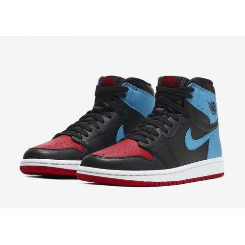 Shoes Hi top trainers Nike Air Jordan 1 High Unc to Chicago  Dark Powder Blue/Gym Red-Black-White