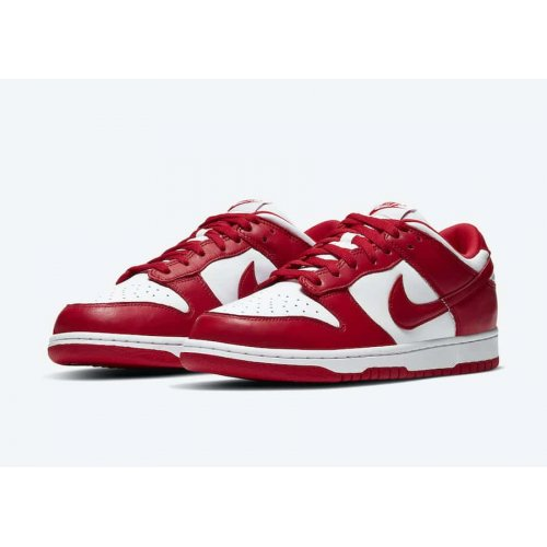 Shoes Low top trainers Nike SB Dunk Low University Red White/University Red