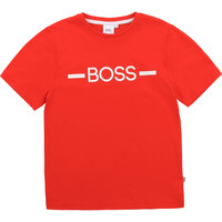 Clothing Boy Short-sleeved t-shirts BOSS ANTHENIO Red