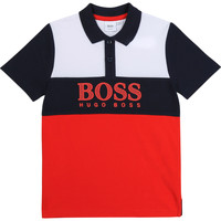Clothing Boy Short-sleeved polo shirts BOSS ALEXAND Multicolour