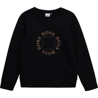 Clothing Boy Sweaters BOSS CONCHI Marine