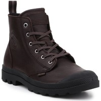 Shoes Hi top trainers Palladium Pampa ZIP LTH 76888-249-M brown