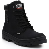 Shoes Women Hi top trainers Palladium Pallabosse SC Waterproof 96868-008-M black