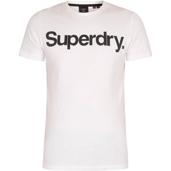 Clothing Men Short-sleeved t-shirts Superdry CL NS T-Shirt white