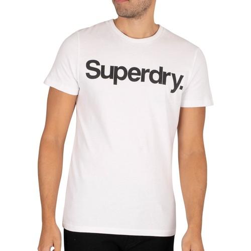 Clothing Men Short-sleeved t-shirts Superdry CL NS T-Shirt white