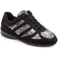 Shoes Women Derby Shoes & Brogues Calzamedi COMFORT SHOES 3083 BLACK