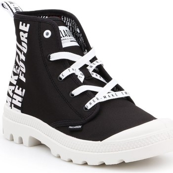 Shoes Hi top trainers Palladium Pampa HI Future 76885-002-M white, black