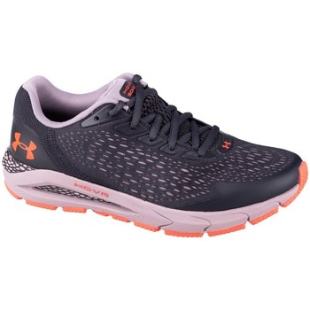 Shoes Children Low top trainers Under Armour GS Hovr Sonic 3 Graphite,Violet
