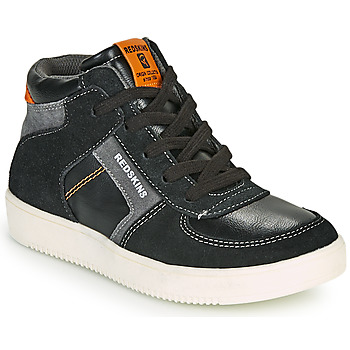 Shoes Boy Hi top trainers Redskins LAVAL KID Black / Anthracite