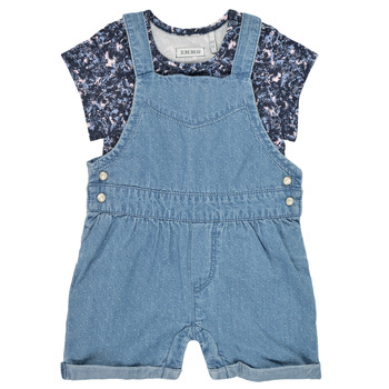 Clothing Girl Jumpsuits / Dungarees Ikks XS37010-84 Blue