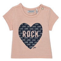 Clothing Girl Short-sleeved t-shirts Ikks XS10120-31 Pink