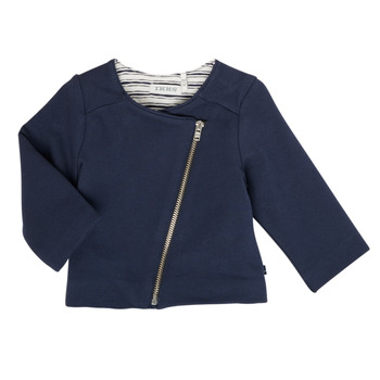 Clothing Girl Jackets / Cardigans Ikks XS17030-48 Marine