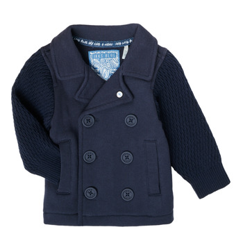 Clothing Boy Jackets / Cardigans Ikks XS17001-48 Marine