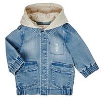 Clothing Boy Jackets Ikks XS40021-84 Blue