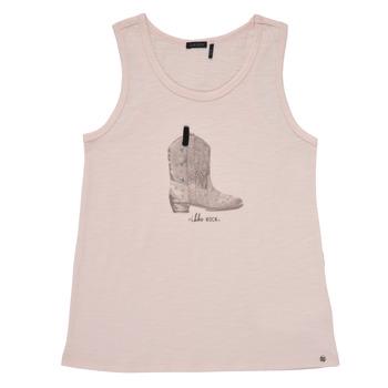 Clothing Girl Tops / Sleeveless T-shirts Ikks XS10302-31-J Pink
