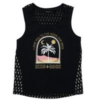 Clothing Girl Short-sleeved t-shirts Ikks XS10012-02-J Black